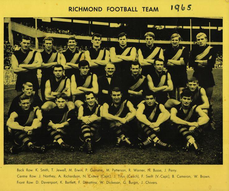 Richmond FC 1965 Team Photo-002