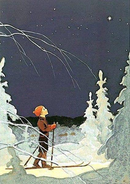 Rudolf Koivu | ILLUSTRATION | Christmas Star
