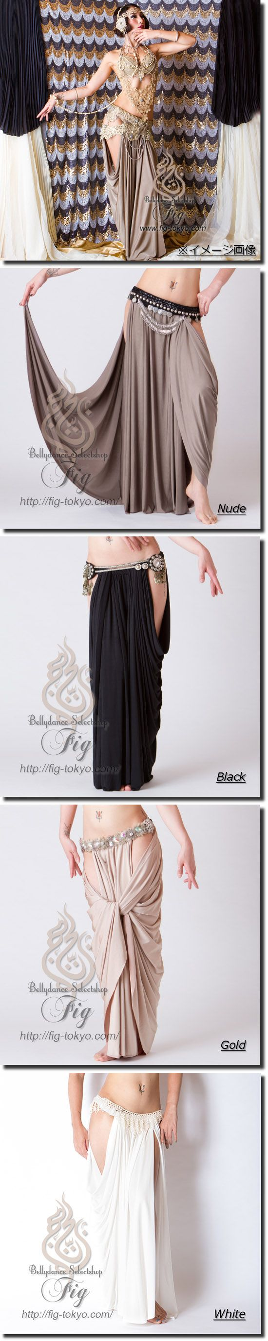 Draped Skirt / ChitLom31. × Miya Miya / Fig Belly Dance #miyamiya #figbellydance…