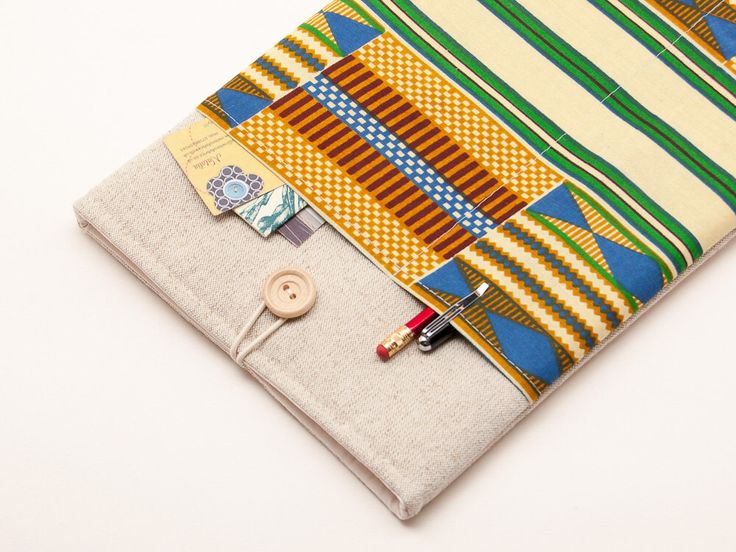 70% OFF SALE White Linen MacBook Air Case with African kente style pocket. Case for MacBook 11 Air. Sleeve for MacBook Air 11 inch by BluCase on Etsy https://www.etsy.com/listing/247942604/70-off-sale-white-linen-macbook-air-case
