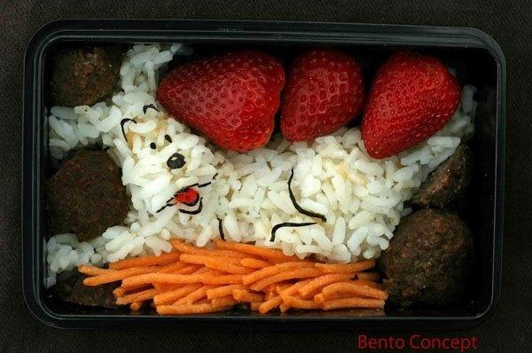 Snowy, Tintin's dog - too cute to eat!