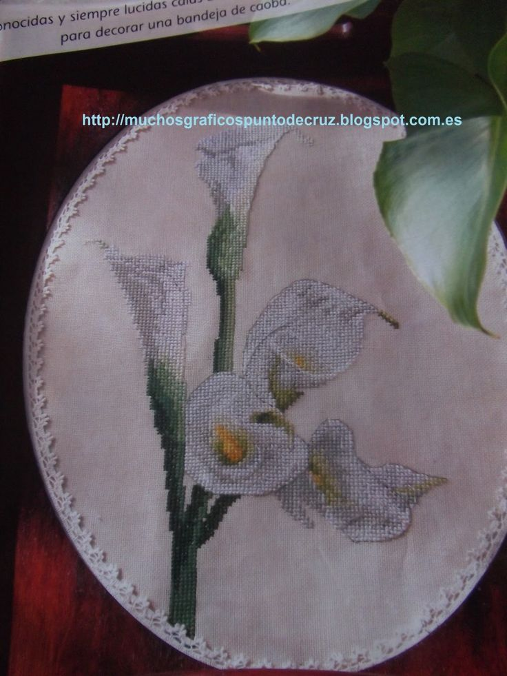 GRAFICOS PUNTO DE CRUZ GRATIS : FLORES(50)