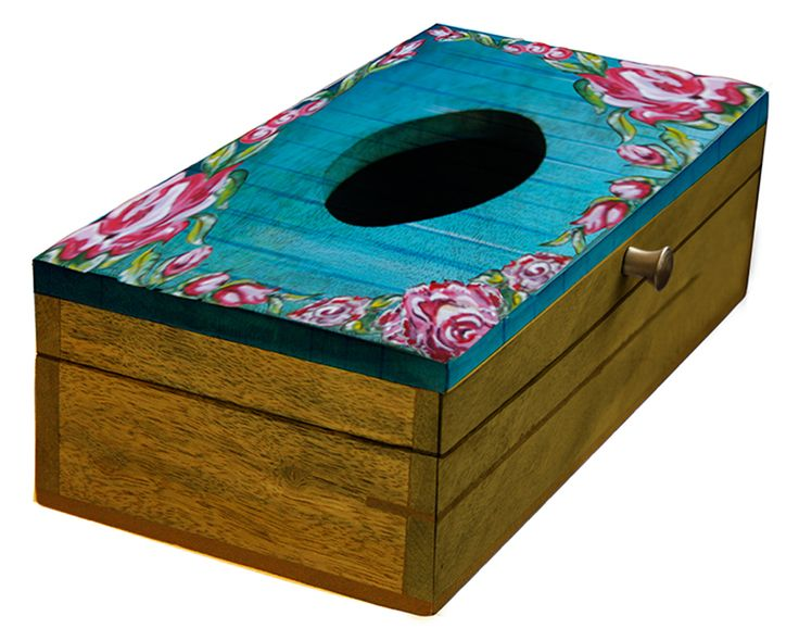 handmade kleenexnapkinpaper tissue box holder in mangowood for dining tablebathroombedroom kitchen accessories from distributors in india