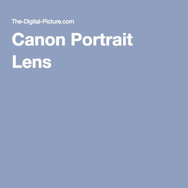 Canon Portrait Lens