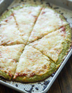 Broccoli Crust Pizza (Paleo, Low-carb, Gluten free)