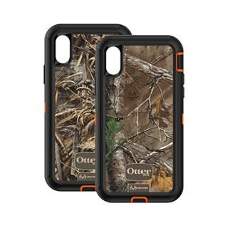 iPhone X OtterBox Defender Series Realtree Case