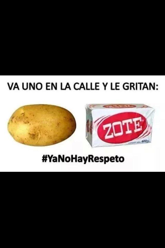 No hay respeto!