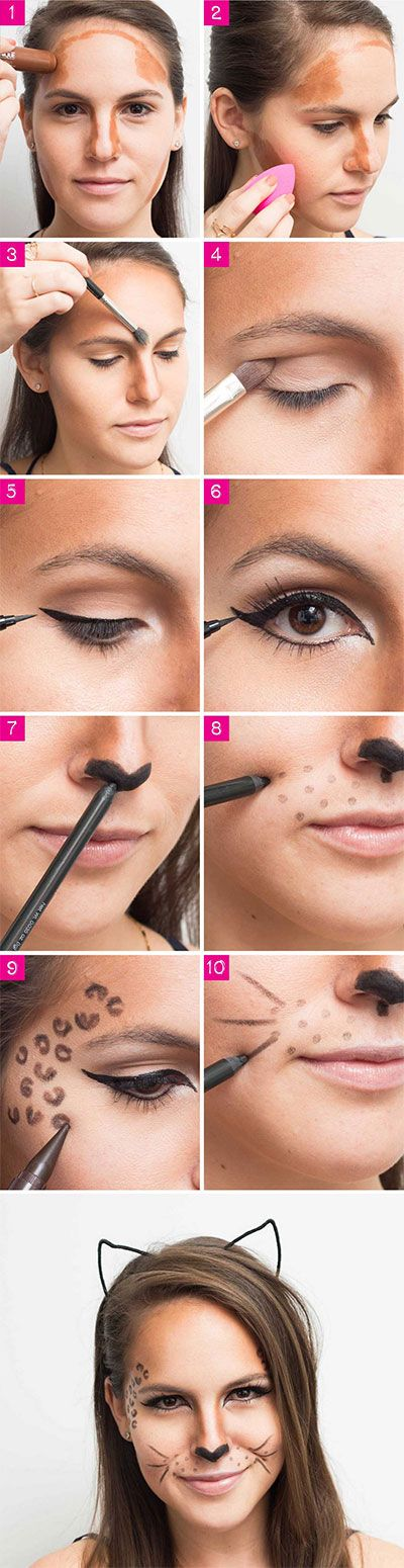 leopard-makeup-halloween-costume-how-to-tutorial-hacks