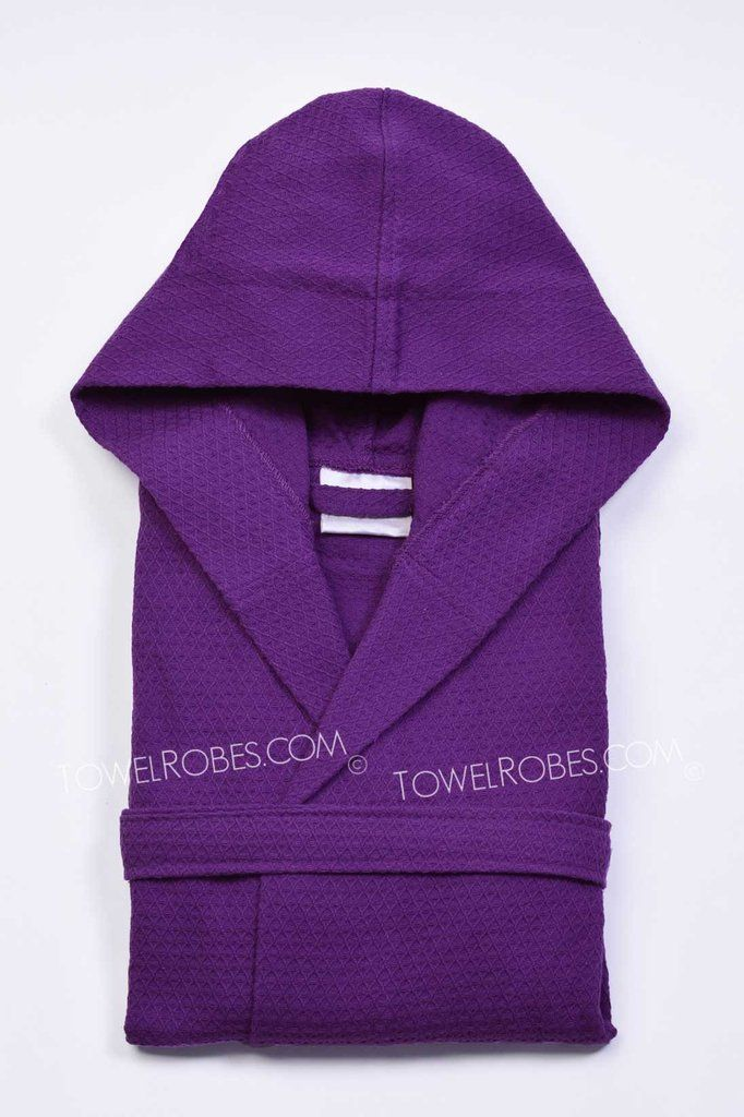 Embroidered Kids Robes | Waffle Kids Robes with Hood – towelrobes.com