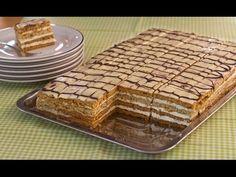 """Prăjitura cu foi cu miere și nucă """"Frumoasa Adormită""""   Retete ca la mama"""