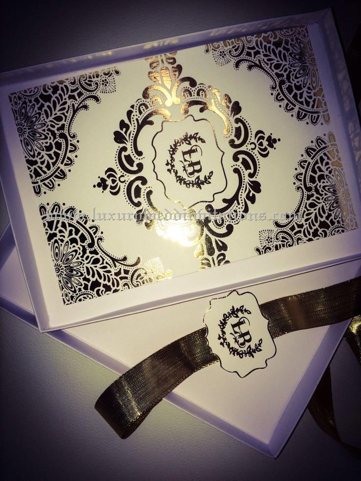 55 best Letterpress and Foil Stamped Wedding Invitations images on ...