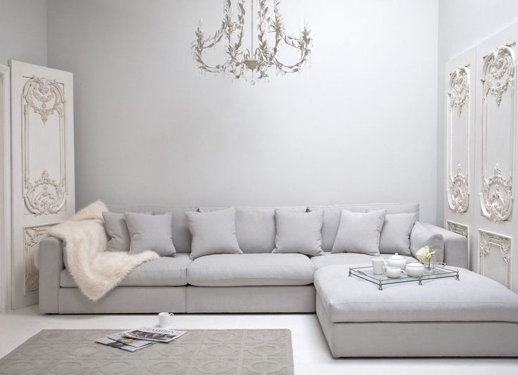 Lansdowne L Shape Sofa   Handmade In London Sofas   Sofas & Seating   Sweetpea & Willow
