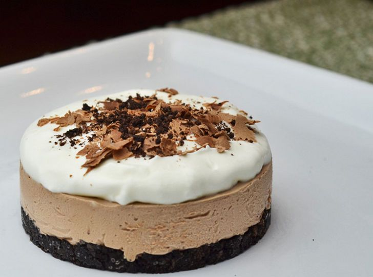 No Bake Nutella Cheesecake.