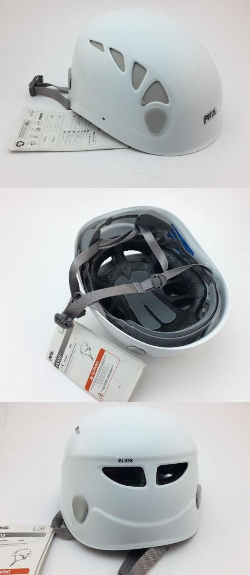 Other Climbing and Caving 1299: Petzl Elios Multi-Purpose Rock Climbing Helmet White Size 2 A42bw2 [33-3] -> BUY IT NOW ONLY: $55.0 on eBay!