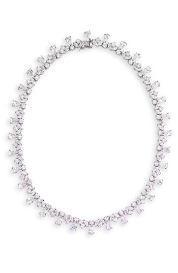 CZ by Kenneth Jay Lane 'Imperial French' Cubic Zirconia Necklace