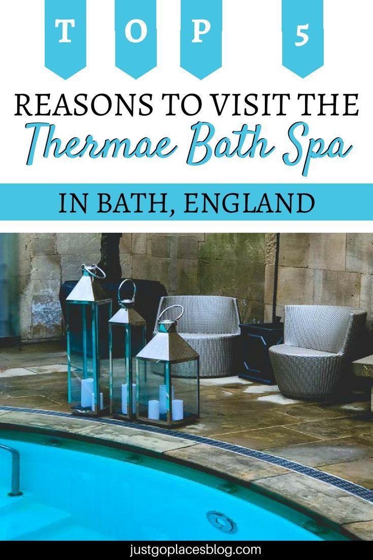 The Thermae Bath Spa in Bath UK, thermal baths in England   Bath uk ...