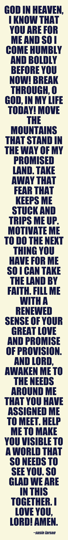 Renew me  God