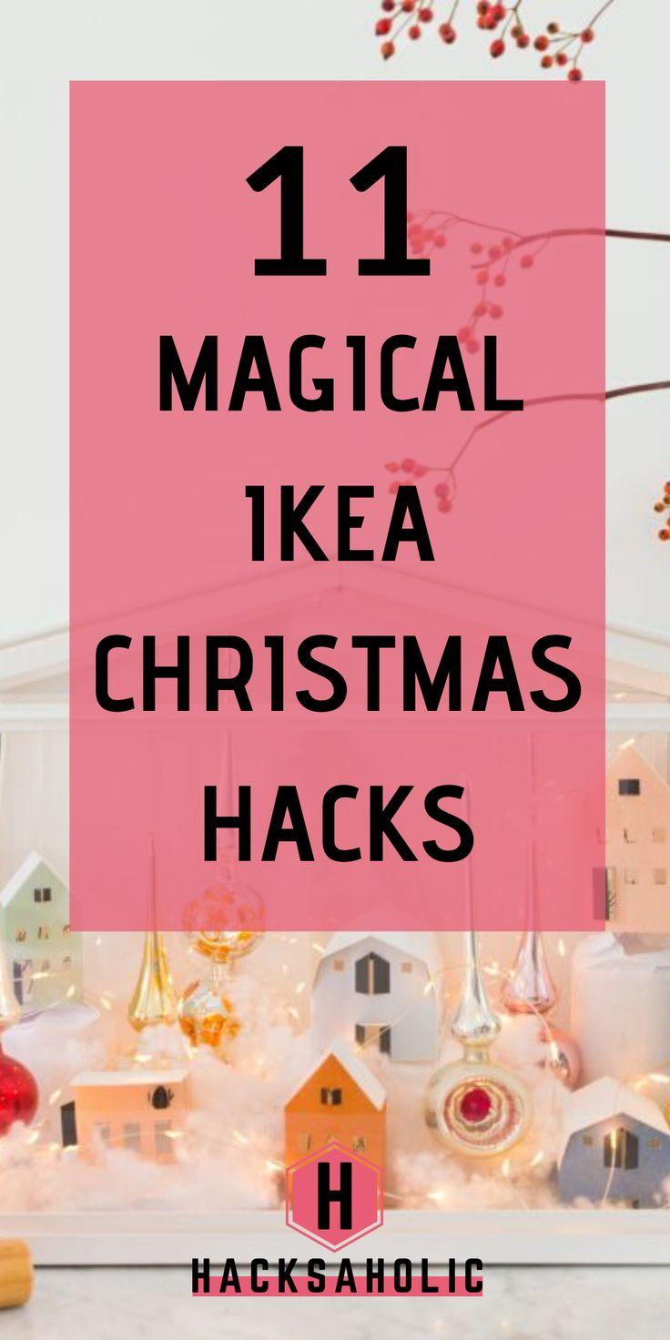 11 Magical Ikea Christmas Hacks | Ikea christmas, Ikea ...