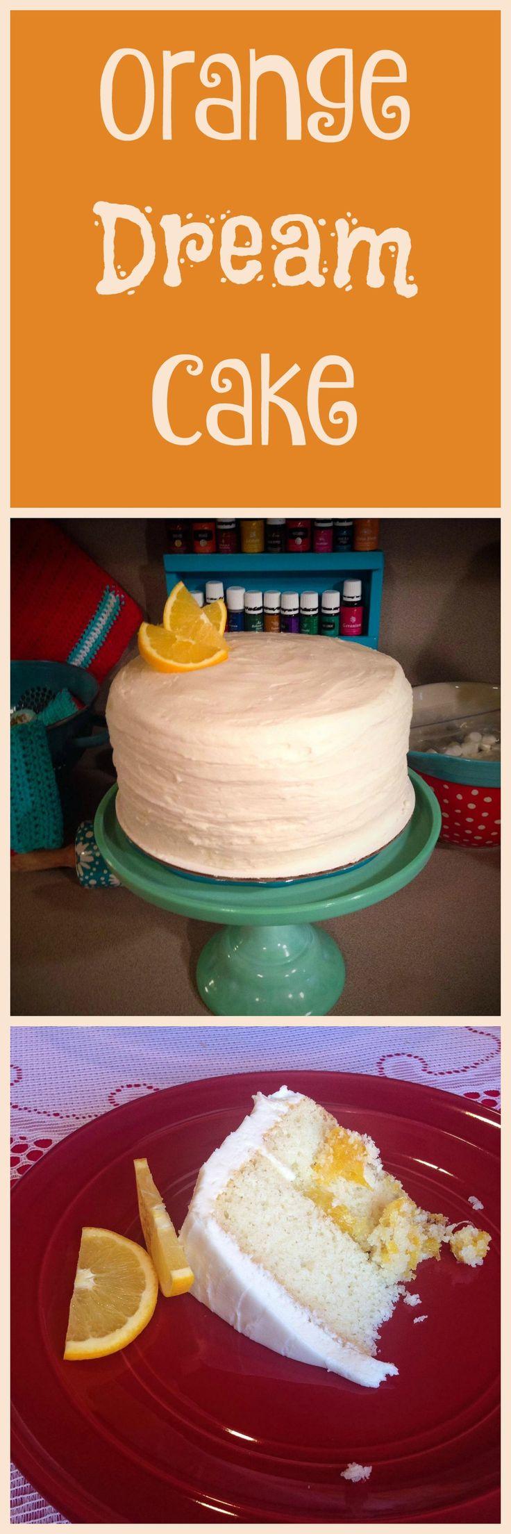 This amazing orange dream cake recipe is simple and delicious.