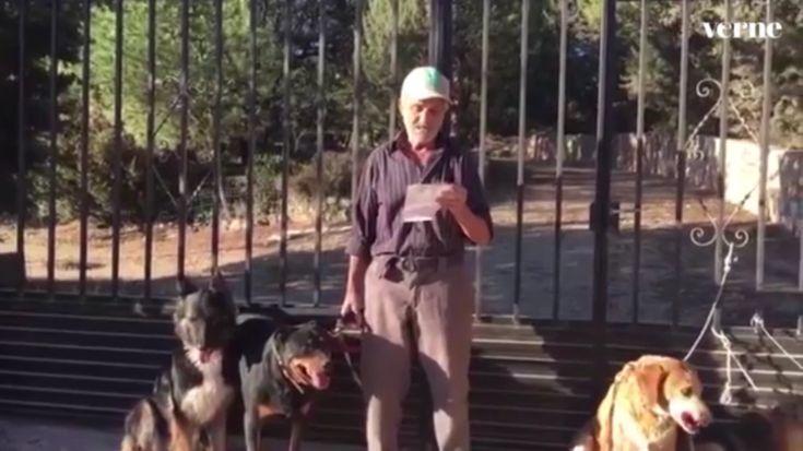 """Antes de continuar, hay que destacar un detalle importante para las personas que quieran adoptar alguno de los perros: solo se aceptan solicitudes de residentes en la Comunidad de Madrid o en la provincia de Guadalajara. """"Santiago quiere poder seguir viendo a sus perros todo el tiempo que pueda. Por eso no nos planteamos que los perros vayan a otros puntos de España"""", añade Pilar, que cuenta con la ayuda de otra vecina, Nanci. También recomiendan no llamar a los teléfonos que se men..."""