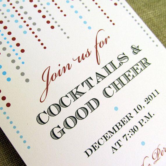 Holiday Party Invitations Christmas Party Invitations