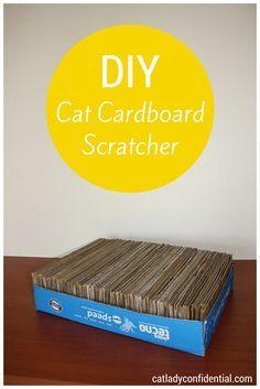 Best 25 Cardboard Cat Scratcher Ideas On Pinterest