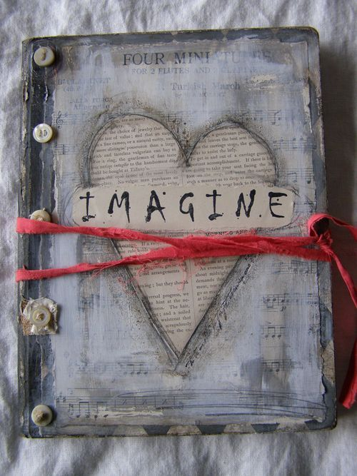 I am going to do an altered book before I die. This is the coolest thing!