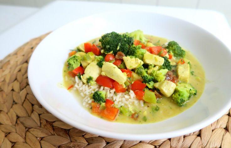 Recept: Gezonde Kip Kerrie met Broccoli | Optima Vita | Bloglovin'
