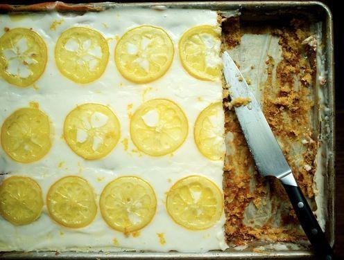 GF Candied Lemon Sheet Cake recipe on Food52.com