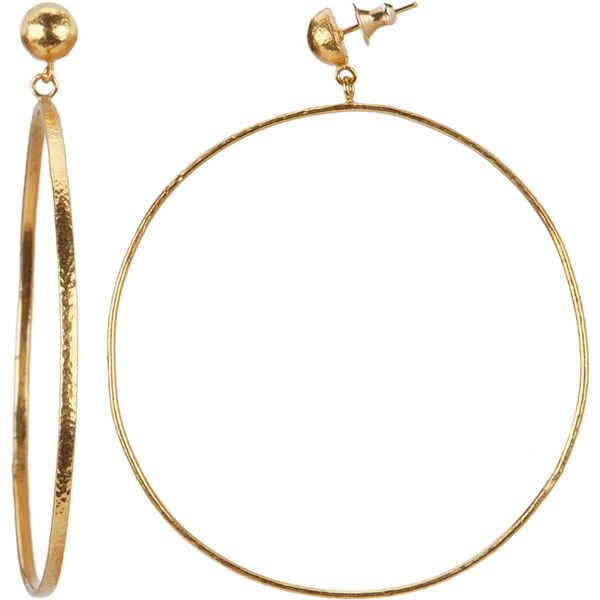 Gurhan Women's Geo 24k Yellow Gold Earrings (367568301) (24.719.980 IDR) ❤ liked on Polyvore featuring jewelry, earrings, multiple colors, 24k gold earrings, holiday earrings, oversized hoop earrings, 24 karat gold earrings and hammered hoop earrings