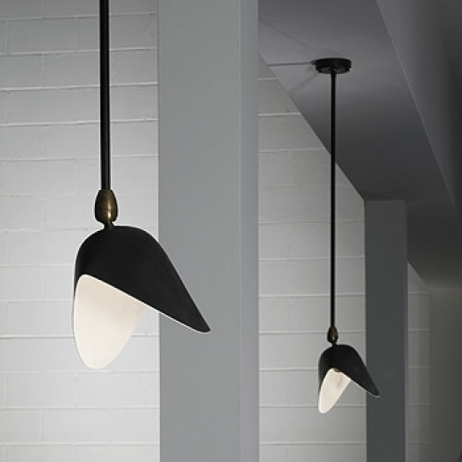 335: Serge Mouille / ceiling lights, pair < Modern + Contemporary Design, 28 March 2006 < Auctions | Wright