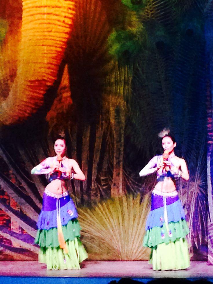 Balanaxi show in Xishuanbunna