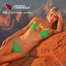 Arizona Cardinals Cheerleaders Rolf's making of the 2012-2013 Cardinals Cheerleaders Calendar