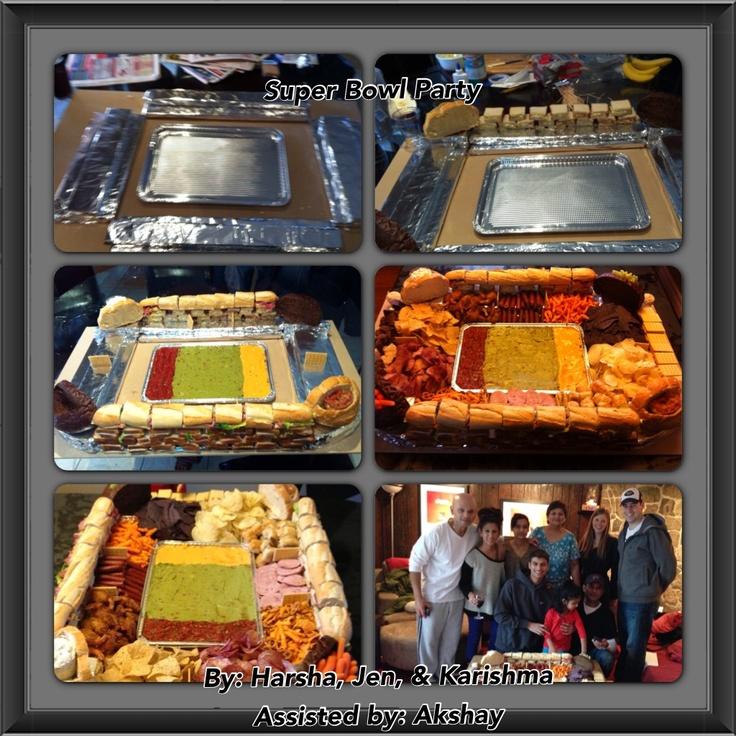 Epic Super Bowl food!