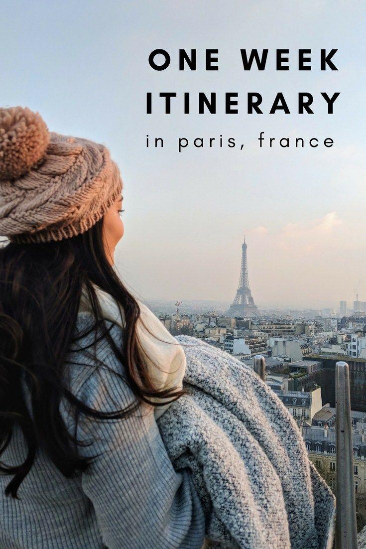 A Week Long Itinerary In Paris Visit Paris Paris Winter Paris