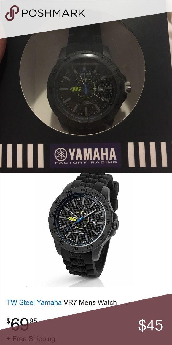Valentino Rossi #46 Yamaha racing watch  - NIB Yamaha racing watch never worn, tw steel. yamaha Accessories Watches