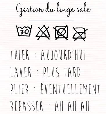 La gestion du linge sale