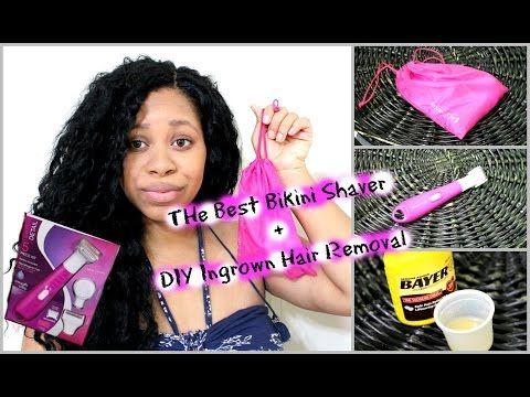 The Best Bikini Shaver + DIY Ingrown Hair Removal - YouTube