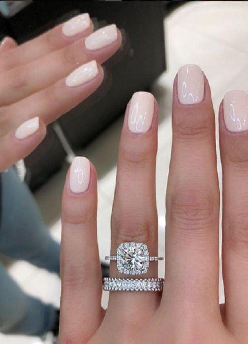 14 Karat Weißgold Finish 2,20 CT Runde Diamant Hochzeit Engagement Braut Ring Set