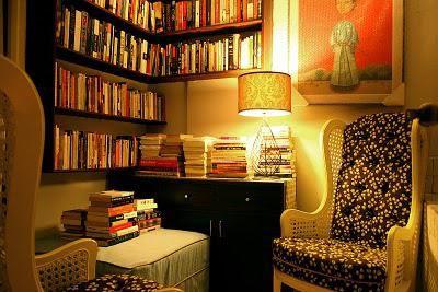 From Plain Bookshelf to Cozy Reading Room