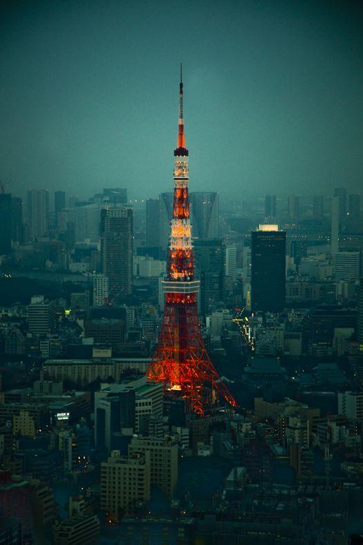 Tokyo Tower, Japan © Sergio Rozas 東京タワー