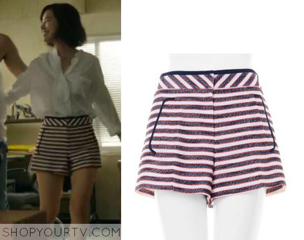 Doctor Stranger: Episode 9 Song Jae Hee's Striped Shorts - ShopYourTv