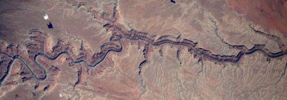 Wielki Kanion widziany z pokładu ISS