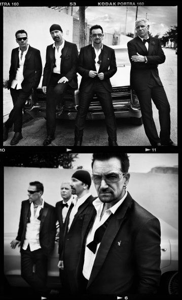 U2 by Vincent Peters Beautiful B & W photography check out Vincent Peter's…