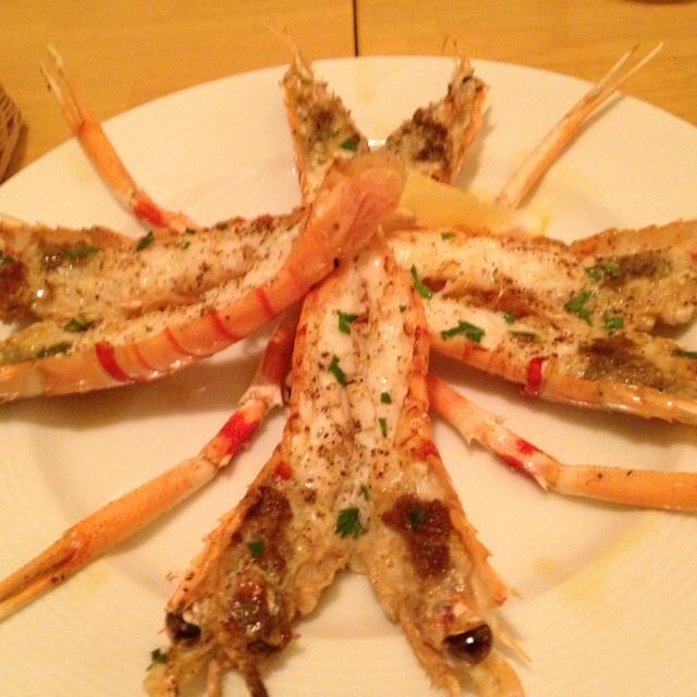 スカンピ~  スカンピのグリル      cucina italiana miele
