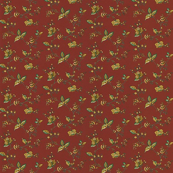 brewster red jacobean floral - photo #24