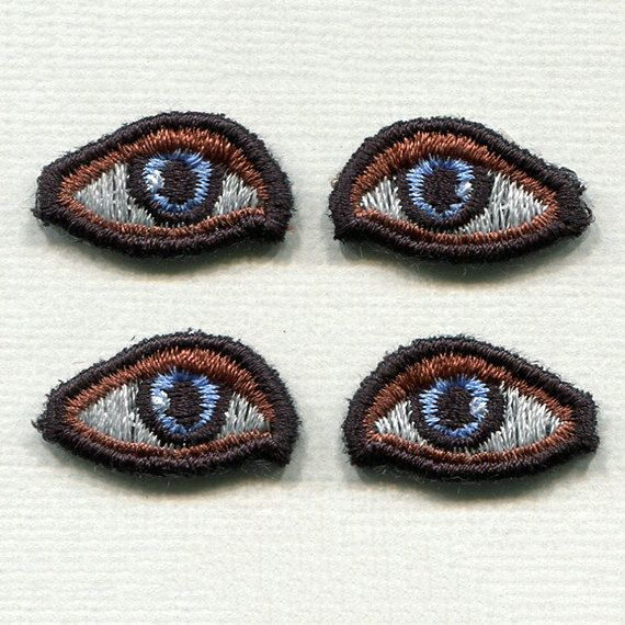 88 best amigurumi eyes images on pinterest crochet dolls embroidered safety eyes for diy projects 2 pairs blue green or brown perfect gift ccuart Image collections
