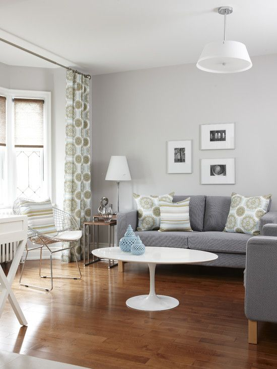 shades of gray couch  Spaces Gray Walls Design, Pictures, Remodel, Decor and Ideas - page 7