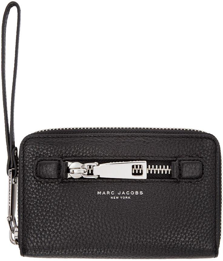 Marc Jacobs - Black Leather Gotham City Wallet