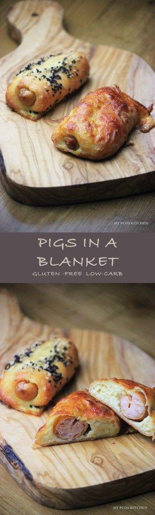Gluten-free Pigs in a Blanket Low-carb/Keto Fathead Dough